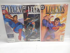 Legends Of DC Universe DC Comic Books 1-3 Superman Faster Than A Speeding Bullet
