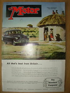 vintage motor magazine june 11 1952 the