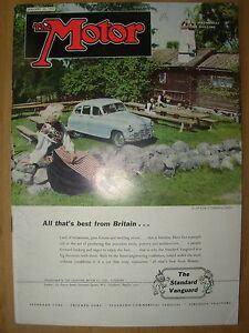 vintage motor magazine january 30 1952 the
