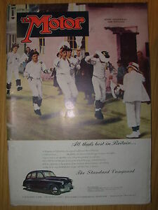 vintage motor magazine july 18 1951 the