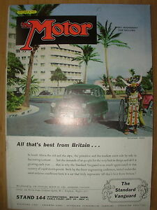vintage motor magazine october 8 1952 the