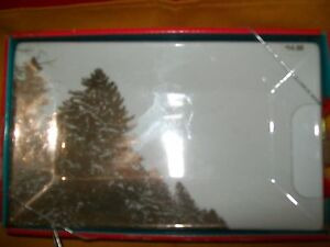 CIB TARGET CHRISTMAS HOLIDAY SERVING SMALL PLATTER TRAY GOLD TREES