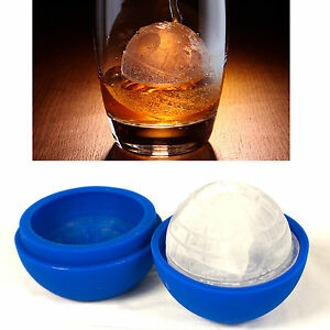 Silicone Wars Death Star Ice Cube Mold Tray Desert Round Sphere Chocolate 3D New