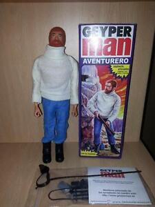 action man geyperman adventurer whiter