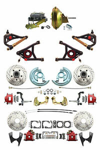 GM 1967-72 A-Body Four Wheel DS Disc Brake Kit 11
