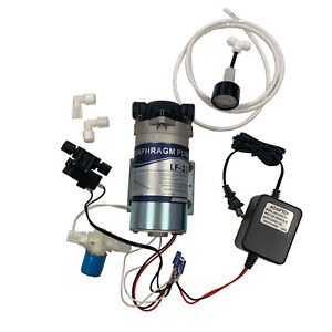 RO Booster Pump Assembly Reverse Osmosis Water System Up Pressure Solenod Valve $102.00