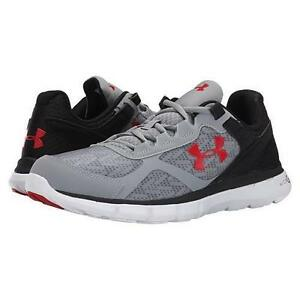 Men's UNDER ARMOUR VELOCITY GrayBlack 1258789 Running Casual Shoes New