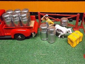 g scale milk cans 1 24 scale set 0f 6