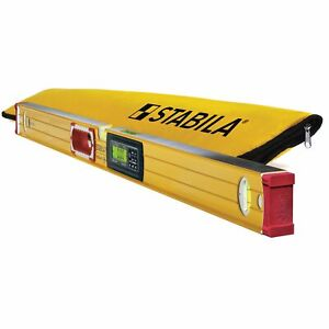 Stabila 196 2 48quot; Electronic Level Dual Displays IP65 Dust Waterproof 36548 $290.00