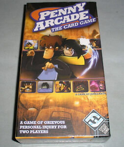 penny arcade the card game 2009 by fantasy
