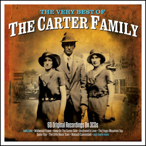 CARTER FAMILY * 60 Greatest Hits * NEW 3-CD BOX SET * All Original Songs