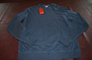 NWT MSRP $99 Under Armour CottonWool Gray Sweater Top Shirt Lightweight Loose