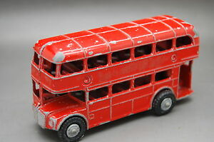 vintage london bus made in england 9 5cm