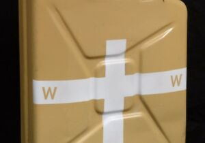 STENCIL schablone 5x W WWII GERMAN 20L WATER WASSER CONTAINER JERRYCAN JERRY CAN