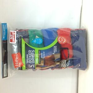 5 pack Mens Hanes 2396z5 Tagless, Cool Dri, Sport Styling Boxer Briefs