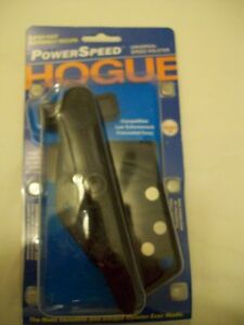 NEW HOGUE POWER SPEED HOLSTER UNIVERSAL FIT COMPETITION CARRY EVERYTHING