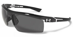 UNDER ARMOUR Core 2.0 Shiny Black  Gray Multiflection Mirror Lens + Sleeve