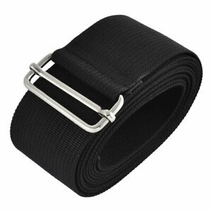 Travel Nylon Adjustable Suitcase Luggage Strap Belt Buckle Black 2.5M Length $14.68