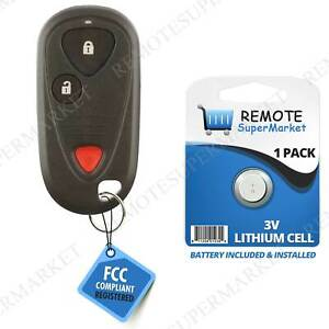 Replacement for Acura 2002 2003 2004 2005 2006 RSX Remote Car Keyless Key Fob $19.95