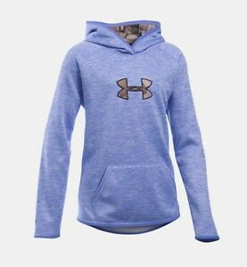 Girl's Under Armour Icon Caliber Hoodie - 1286595
