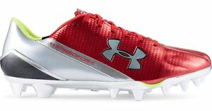 New Under Armour UA Speedform MC Red Football Cleats 1258013-611 Size 9