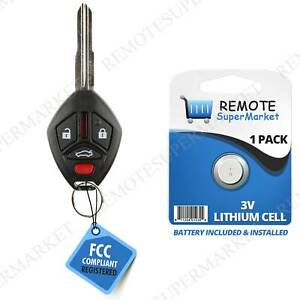 Replacement for 2007 2012 Mitsubishi Galant Eclipse Remote Car Wide Key Fob