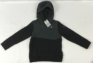 Under Armour Boys Sweater Hoodie SC30 Stephen Curry ColdGear Black Grey YOUTH XL