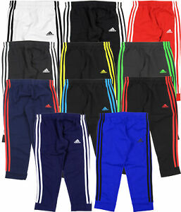 Adidas Youth Game Time 3 Stripe Fleece Pants Color Options $19.99