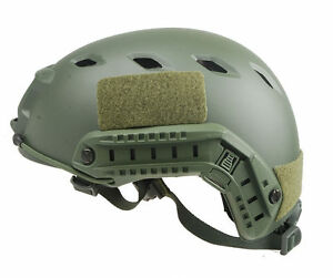 Tactical Lightweight Ops-Core Fast Base Jump Bike Military Helmet army green
