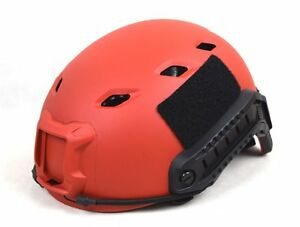 Tactical Lightweight Ops-Core Fast Base Jump Bike Military Helmet red