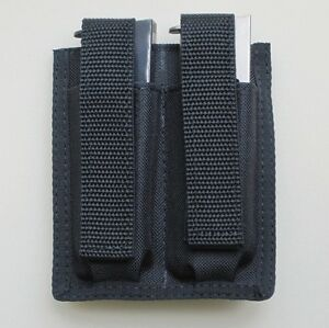 Double Magazine Pouch for M&P Shield 9mm or 40 Caliber - 7 OR 8 ROUND MAGS