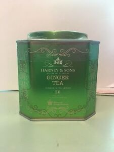 Harney amp; Sons HRP GINGER Tea with Lemon 30ct Sachet Tin