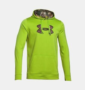 Under Armour Storm Armour Fleece Caliber Tall Men's Hunting Hoodie XL TALL