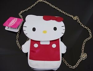 HELLO KITTY PURSE CLUTCH GADGET HOLDER SANRIO JAPAN IMPORT NEW