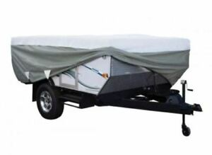 PolyPro Folding Pop Up Camping Trailer RV Cover — Fits Up to 8ft 6 inch RV#x27;s