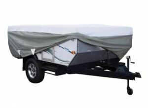 PolyPro Folding Pop Up Camping Trailer RV Cover — Fits 16 FT - 18 FT RV'S
