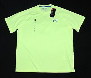 Men's L Under Armour Tech T-Shirt Crew SS Loose Fit X Ray Quick Dry 1228539 786