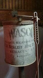 Antique Wasco Cast Iron Car Heating System Vintage Steampunk Griswold Rare