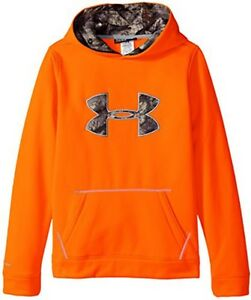 UNDER ARMOUR Storm Caliber Boys Camo Hoodie Large MSRP $54.99 ~FREE SHIPPING