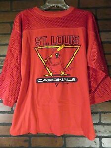 Vintage St Louis CARDINALS Baseball 1988 Artex Shirt Mens Size L