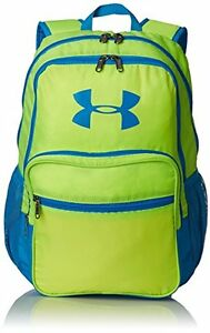 Under Armour Boys' HOF Backpack High-Vis YellowElectric BlueEl One Size