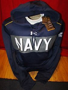 UNDER ARMOUR UNITED STATES NAVAL ACADEMY NAVY DAMN THE TORPEDOES HOO
