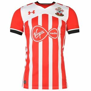 Under Armour Southampton FC Home Jersey 2016 2017 Mens Red Football Soccer Shirt