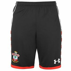 Under Armour Southampton FC Home Shorts 2016 2017 Mens Black Football Soccer
