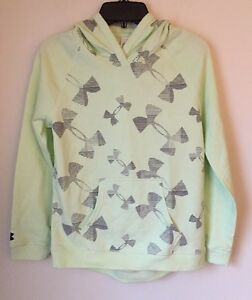 NWT Under Armour All Season Gear Girl's Kaleidelogo Hoodie Medium