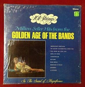 101 Strings - Million Seller Hits From The Golden Age Of The Bands - Vinyl 33RPM