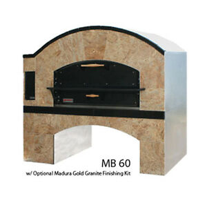 Marsal MB-866 STACKED Gas Deck Type Pizza Oven