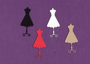 DRESS FORM SWEET sewing die cuts scrapbook cards