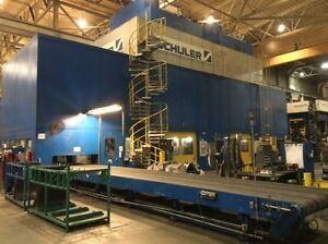1800 Ton Capacity Schuler Straight Side Presses For Sale (2 Available)