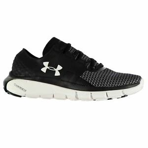 Under Armour SpeedForm Fortis Running Shoes Womens BlackWhite Trainers Sneakers